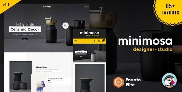 minimosa - Art & Design Studio - Prestashop Multi purpose Responsive Theme