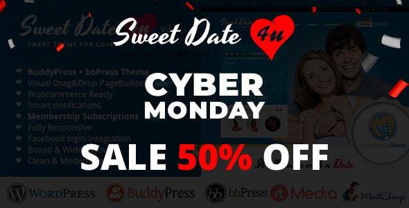 Sweet Date - More than a Wordpress Dating Theme - BuddyPress WordPress