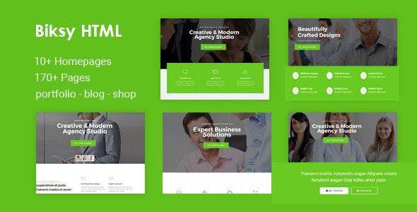 Biksy | Business HTML5 Template - Business Corporate