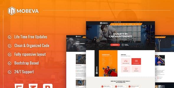 Mobeva - Car Repair HTML Template