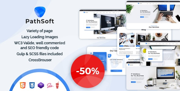 PathSoft - IT Solutions for Your Business Services | HTML5 Template - Business Corporate