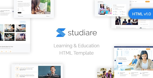 Studiare - Education HTML5 Template for Univeristy & Online Courses - Business Corporate