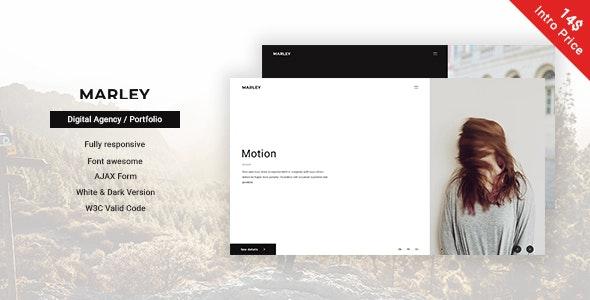 Marley - Portfolio / Agency Template - Creative Site Templates