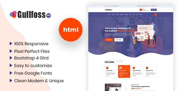 Gullfoss - Multipurpose Business HTML Template - Business Corporate