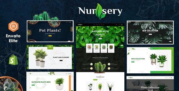 Nursery Plant - Shopify Multi-Purpose Responsive Theme - Shopping Shopify