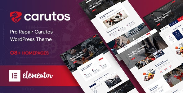 Carutos - Car Services WordPress Theme - Business Corporate