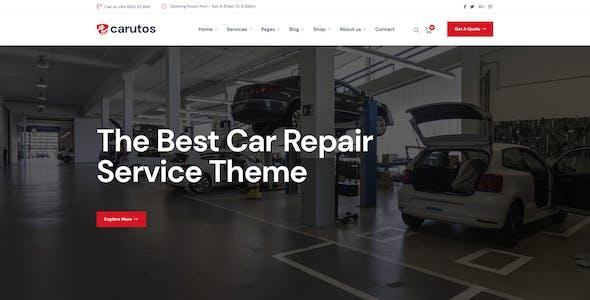 Carutos - Car Repair Services & Auto Parts WooCommerce WordPress Theme