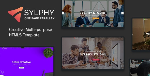 Sylphy - Creative Multi-purpose HTML5 Template - Creative Site Templates