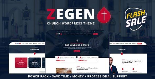Zegen - Church WordPress Theme