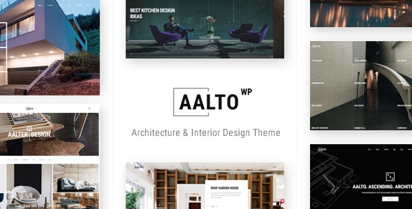 Aalto - Architecture and Interior Design Theme - Portfolio Creative