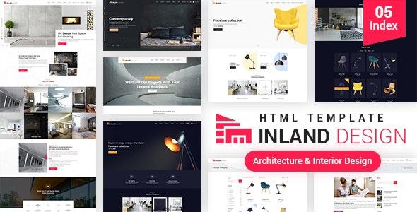 Architecture & Interior Design HTML 5 Template - Site Templates