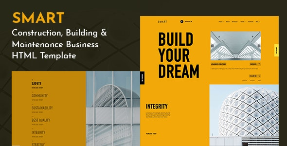 SMART - Creative Corporate Agency Template - Creative Site Templates