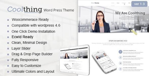 Corporate WordPress Theme - Business Corporate