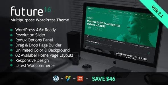 Business Portfolio WordPress Theme - Creative WordPress