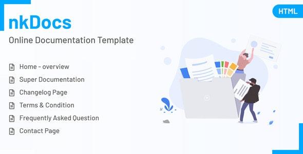 nkDOCS - Online Documentation HTML Template - Software Technology