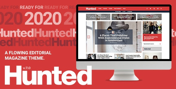 Hunted - A Flowing Editorial Magazine Theme - News / Editorial Blog / Magazine