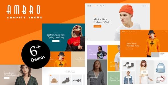 Ambro - Responsive Shopify Fashion - Fashion Shopify