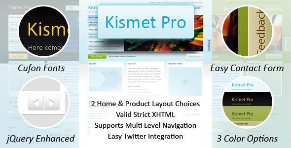 Kismet Pro - HTML by Weborithm | ThemeForest
