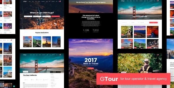 Grand Tour   Travel Agency WordPress - Travel Retail