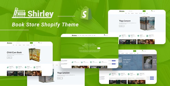 Shirley – Book Store Shopify Theme - Shopping Shopify