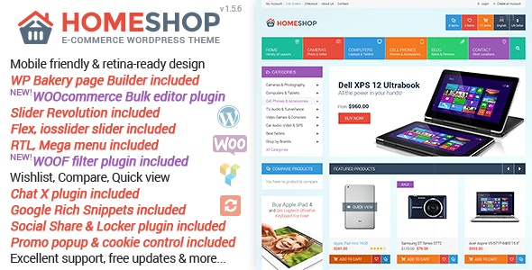 Home Shop – WooCommerce Theme
