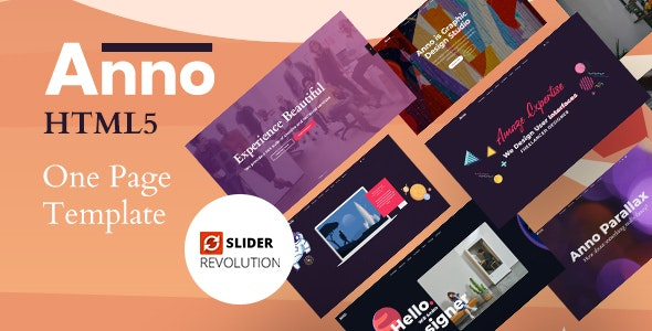 Anno - Digital Agency HTML5 Template - Creative Site Templates