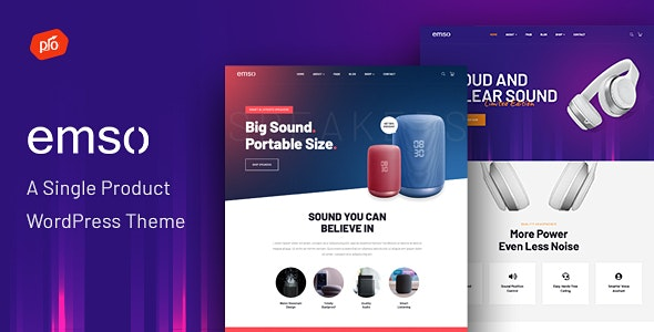 Emso - A Single Product Theme - WooCommerce eCommerce
