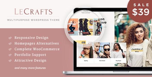 LeCrafts - WooCommerce Marketplace Themes - WooCommerce eCommerce