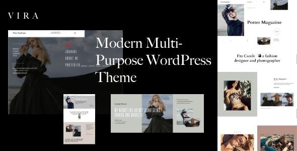 Vira - Multi-Purpose WordPress Theme - Creative WordPress