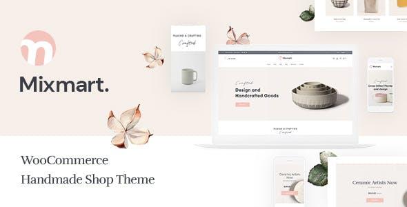 Mixmart - Handmade Shop WordPress WooCommerce Theme