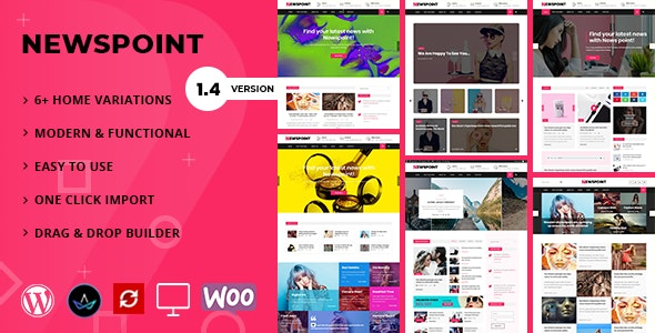 Newspoint - Blogging WordPress Theme - Blog / Magazine WordPress