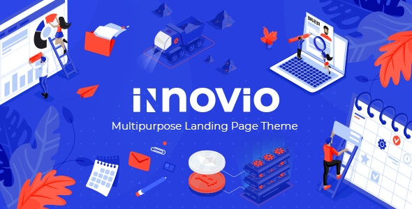 Innovio v1.7 – Multipurpose Landing Page Theme