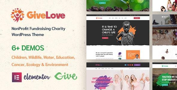 Givelove | Charity & Crowdfunding WordPress Theme - Charity Nonprofit