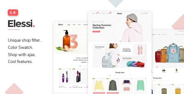 Elessi - Responsive Shopify Theme - Fashion Shopify
