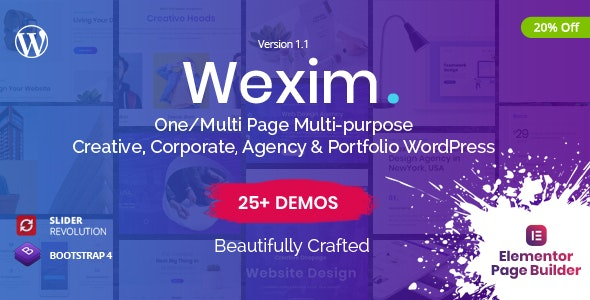 Wexim Theme Preview