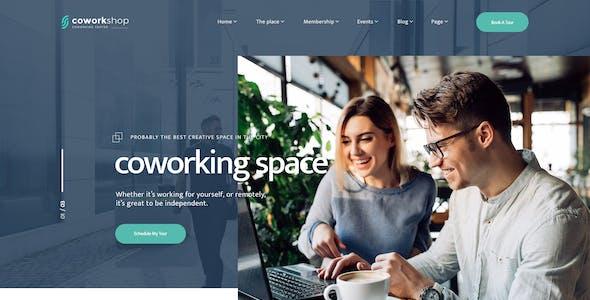 Coworkshop | Coworking Space WordPress Theme