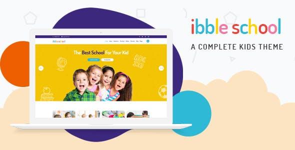 Ibble - Education WordPress Theme