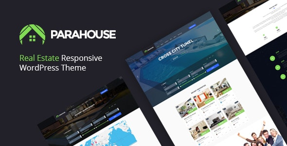 Parahouse - Real Estate WordPress Theme Responsive - Real Estate WordPress