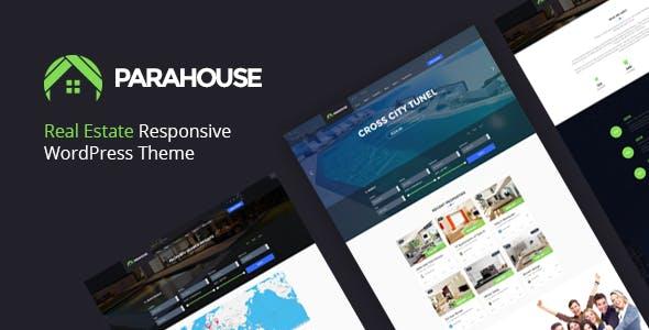 Parahouse - Real Estate WordPress Theme Responsive