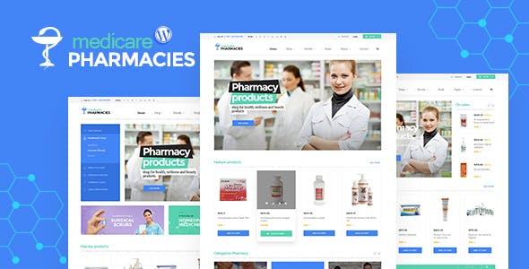 Medicare Pharmacies - Healthcare WordPress Theme