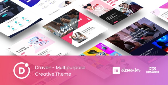 Draven – Multipurpose Creative Theme - Creative WordPress