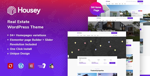 Housey - Real Estate WordPress Theme - Real Estate WordPress