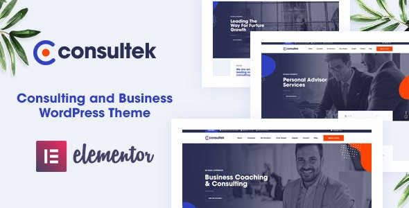 Consultek Theme Preview