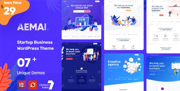Aemal - Startup Business Theme - Business Corporate