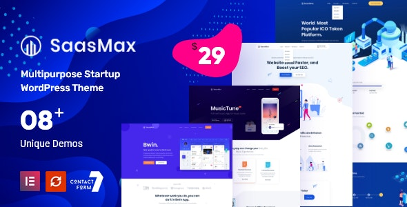 Technology SaaSmax - Software Startup Theme - Software Technology