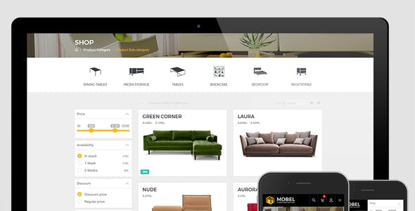 Mobel - Furniture OpenCart Theme