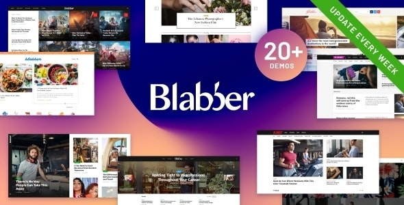 Blabber | All-in-One Elementor Blog & News Magazine WordPress Theme + RTL - News / Editorial Blog / Magazine