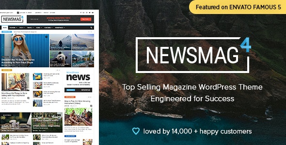 Newsmag - Newspaper & Magazine WordPress Theme - News / Editorial Blog / Magazine