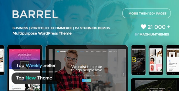 Barrel - Creative Corporate Business Responsive Multi-Purpose WordPress Theme - Business Corporate