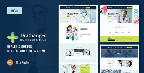 Dr.Changes - Doctor & Medical Clinic WordPress Theme - Health & Beauty Retail